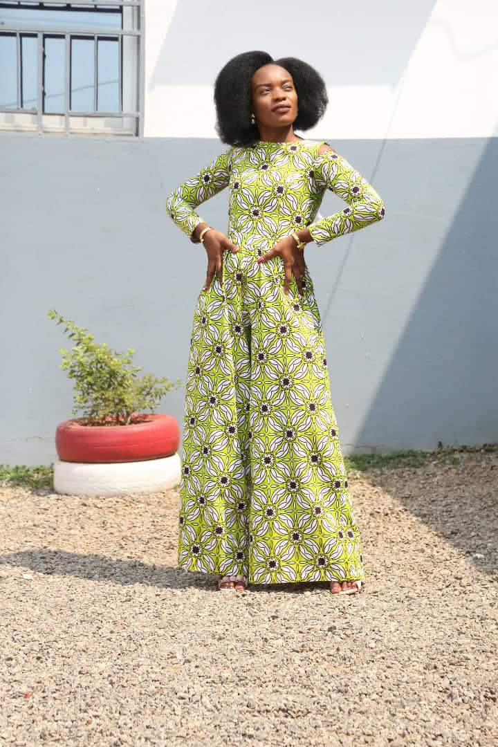 Latest African Print stylish Jumpsuits