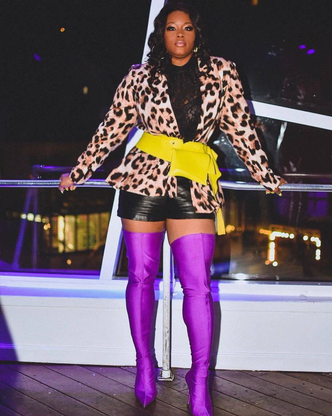 Claire Sulmers Fashion Bomb Daily Balenciaga Boots