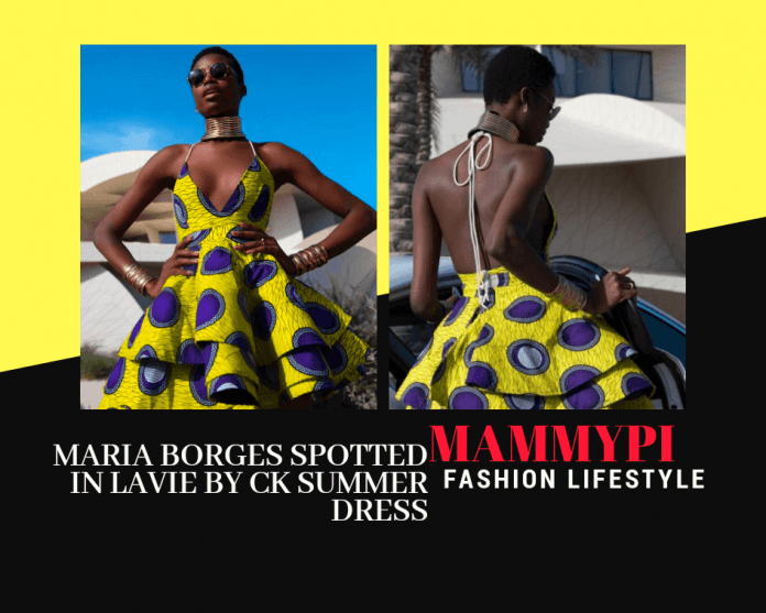 Lavie By CK Summer Dress- Maria Borges