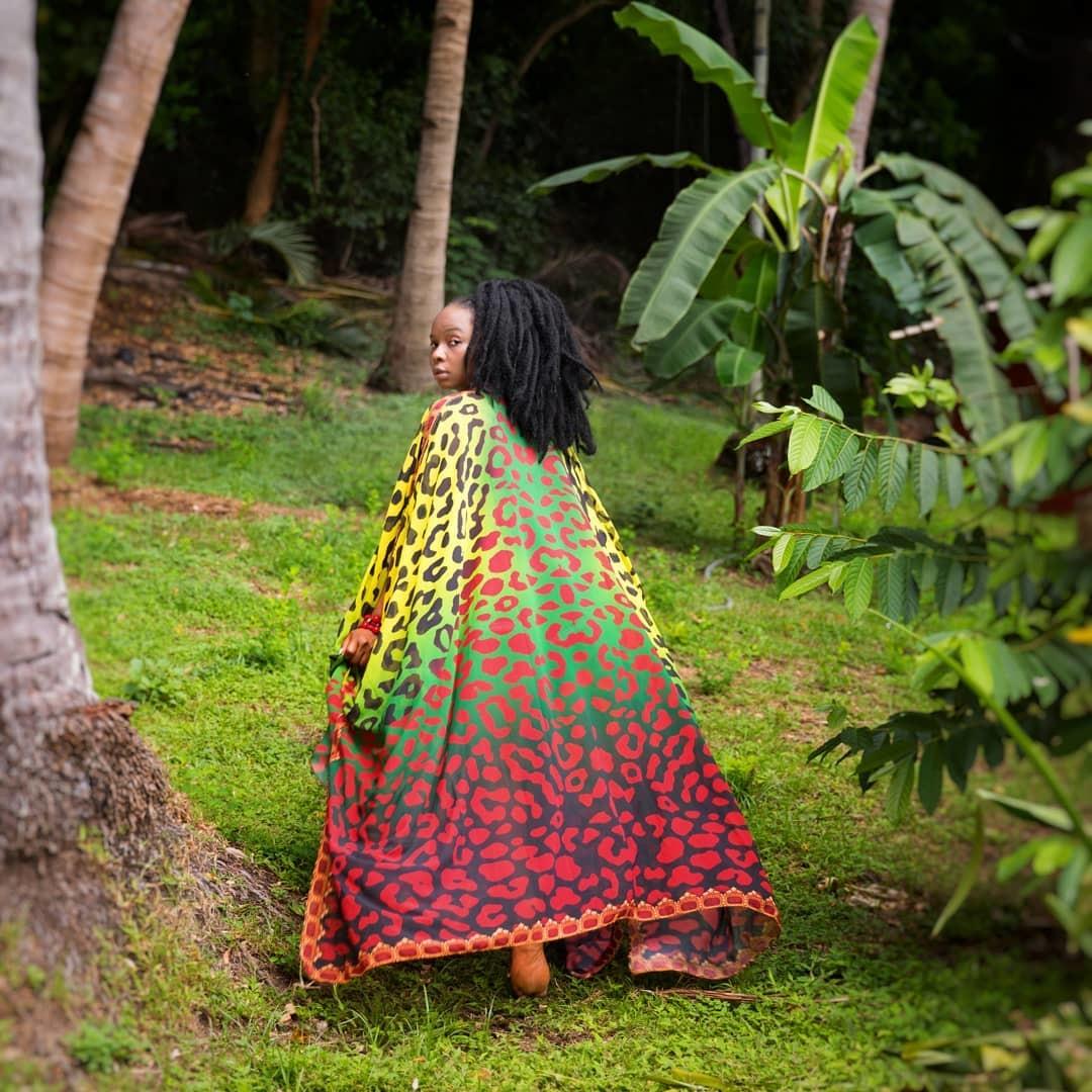 Yemi Alade Styles Sai Sankoh Nawara Goddess Kaftan