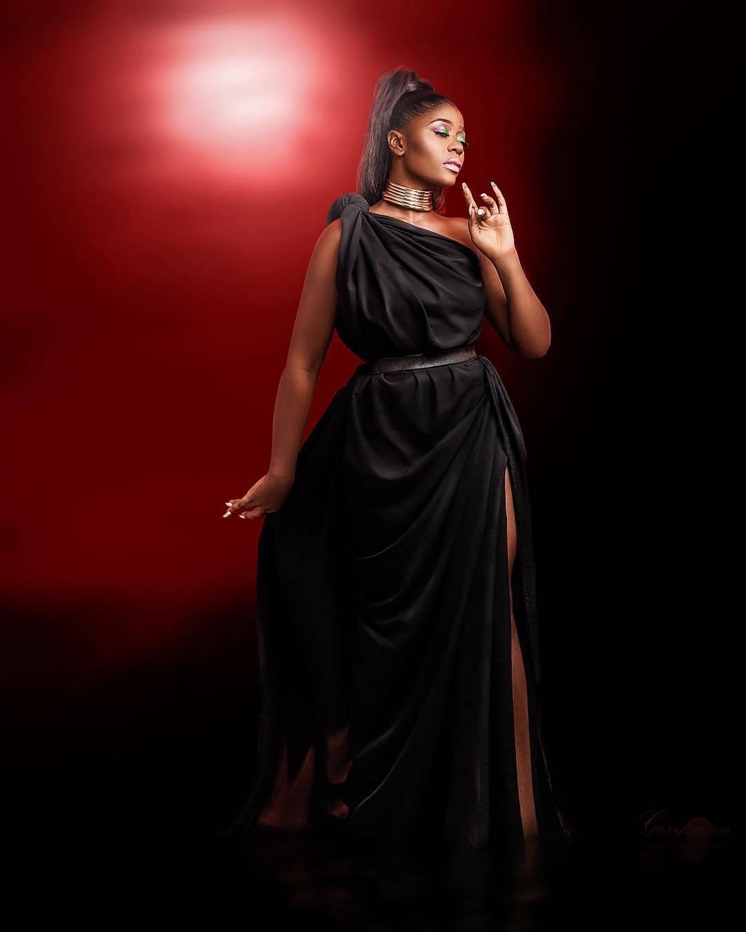 Cameroonian Female Celebrity Malvis-Ann Mohvu