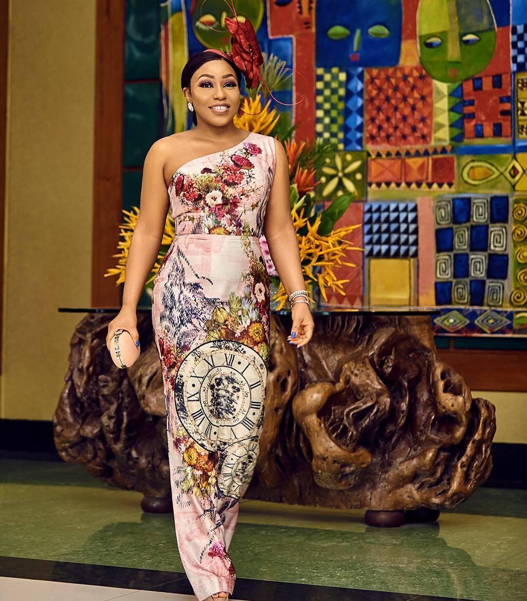 Rita Dominic in Lanre Da Silva Ajayi Dress