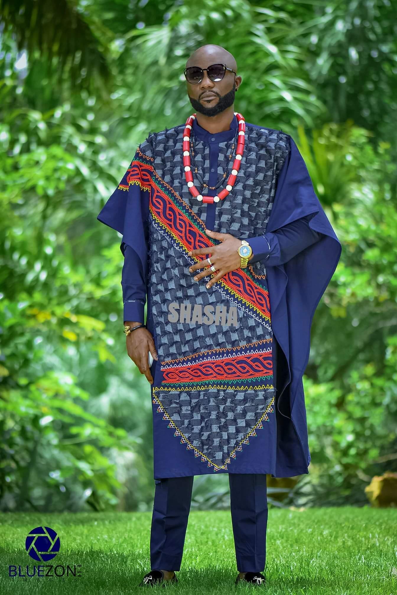 Stunning Traditional Wedding Outfits Toghu Print Long Wedding Dress