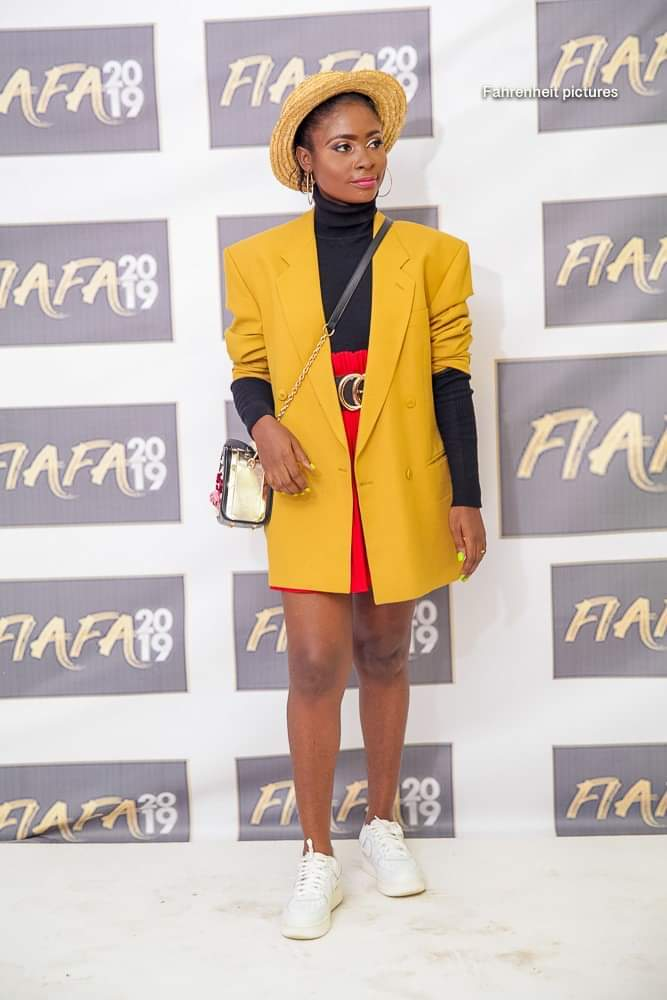 Sarah Polyvalant attends FIAFA 2019