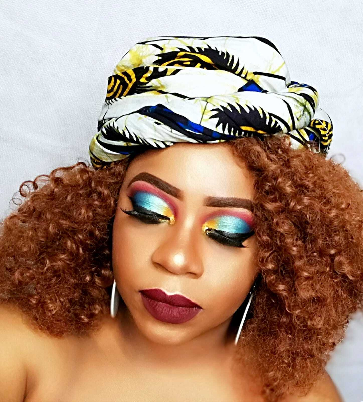 Top Cameroonian makeup artist Klarah Enie