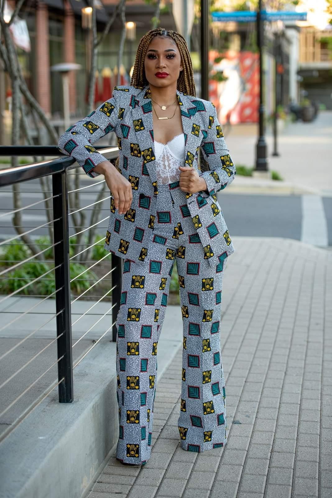Ankara pant suit