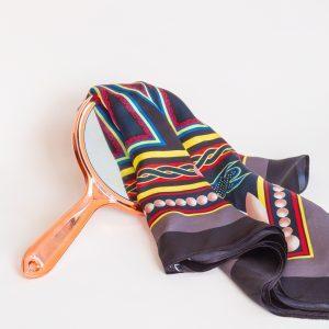 Mangye Ngefor Toghu Mulberry Silk scarf