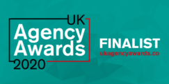 UK Agency Awards 2020 - Finalist Social Graphic