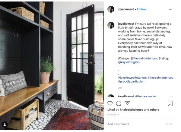 instagram growth case study image of instagram post