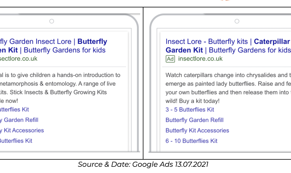 insect lore case study imagery