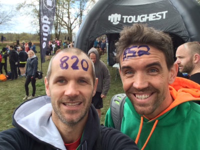 Ga & Mike at Toughest Race Pippingford Park