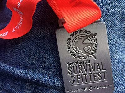 My Menshealth Race medal 1016