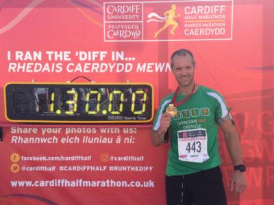 Cardiff Half Finish
