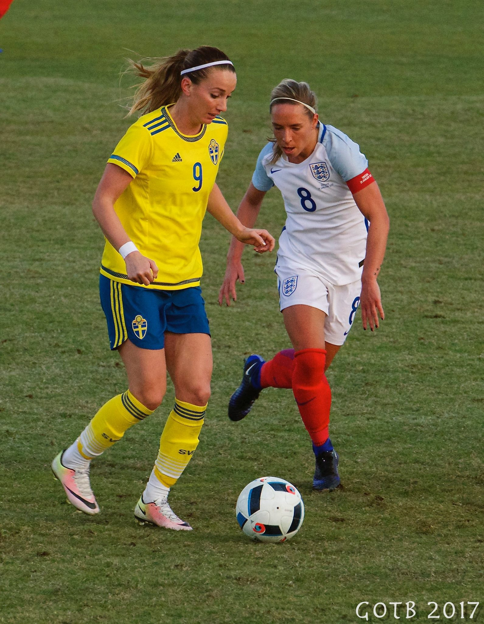 England v Sweden, La Manga