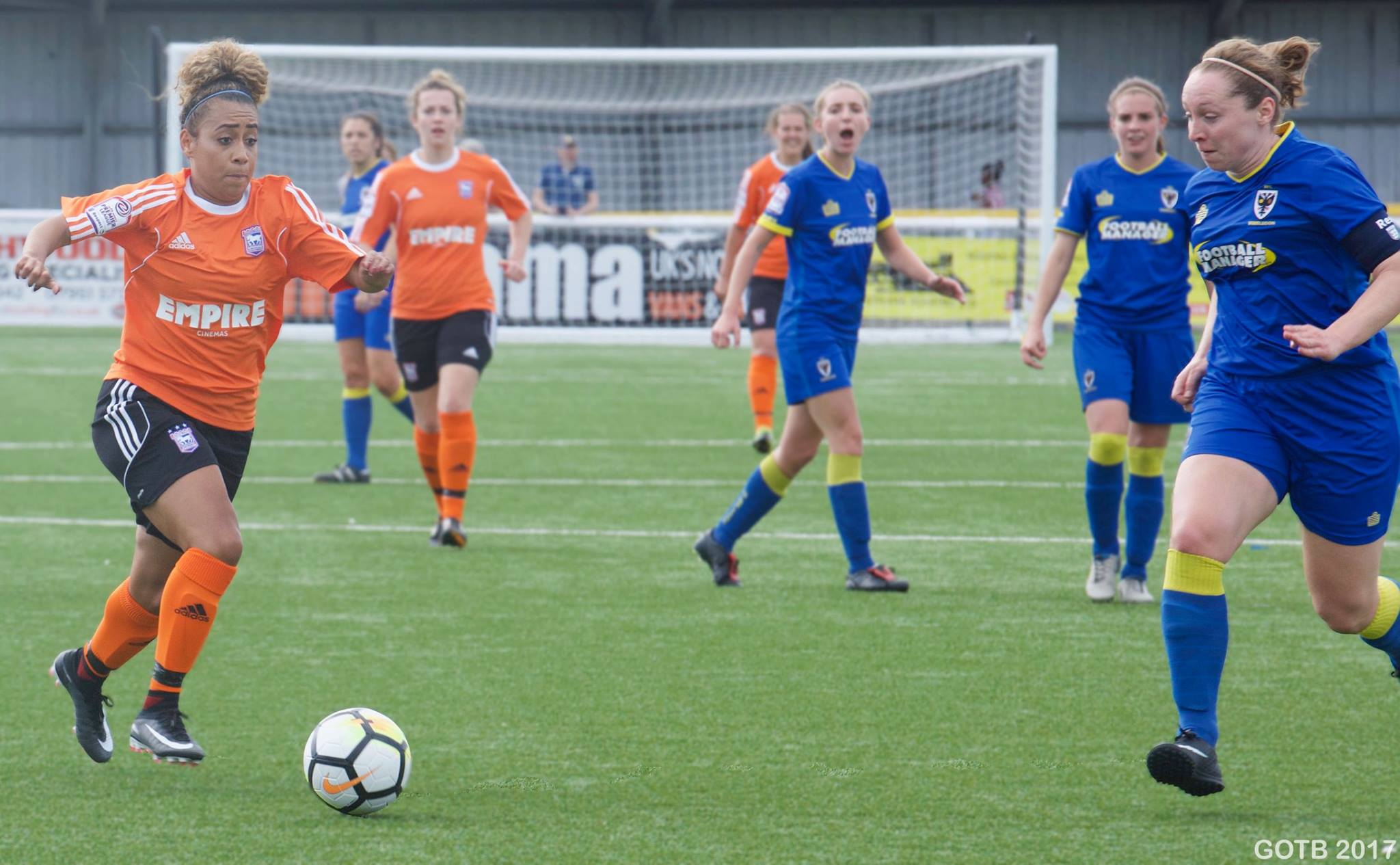 AFC Wimbledon v Ipswich Town, FAWPL Division 1 South East