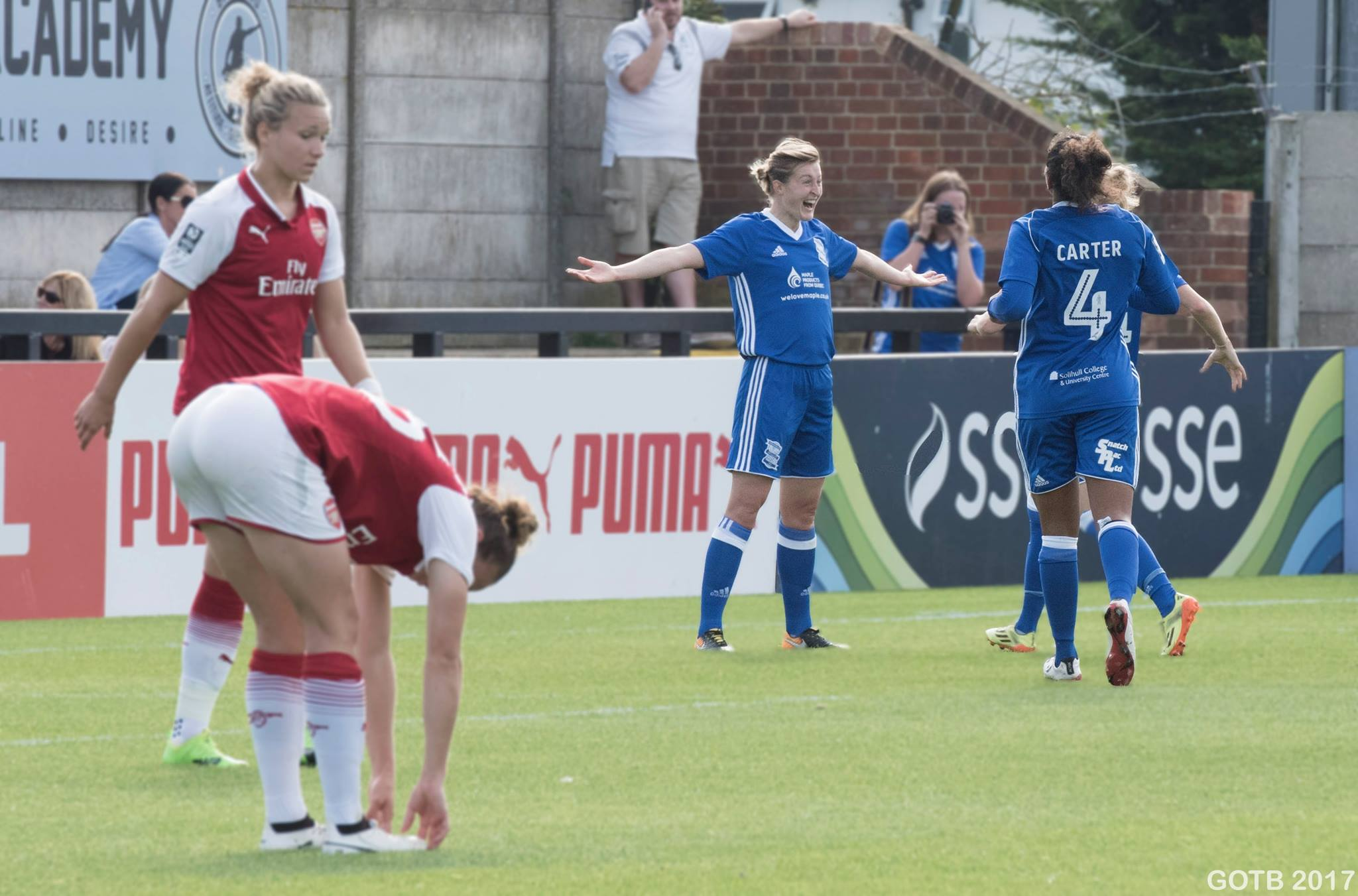 Arsenal v Birmingham City, FAWSL 1