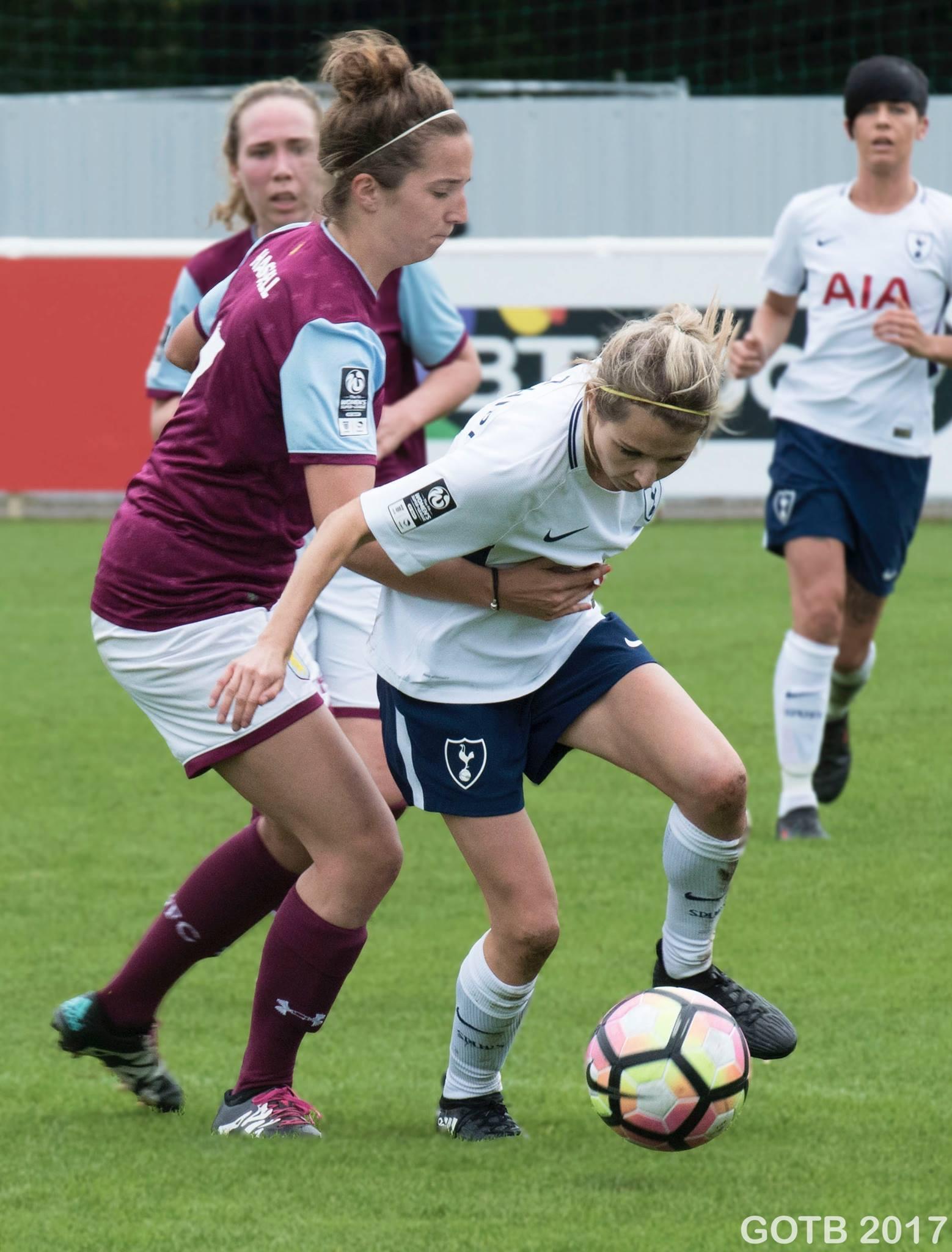 Tottenham Hotspur v Aston Villa, FAWSL 2
