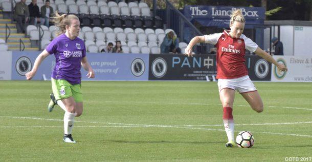 Arsenal v Bristol City, FAWSL 1