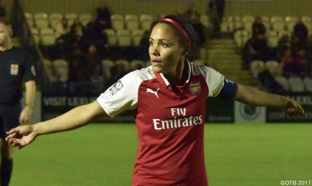 Arsenal v London Bees, Continental Cup