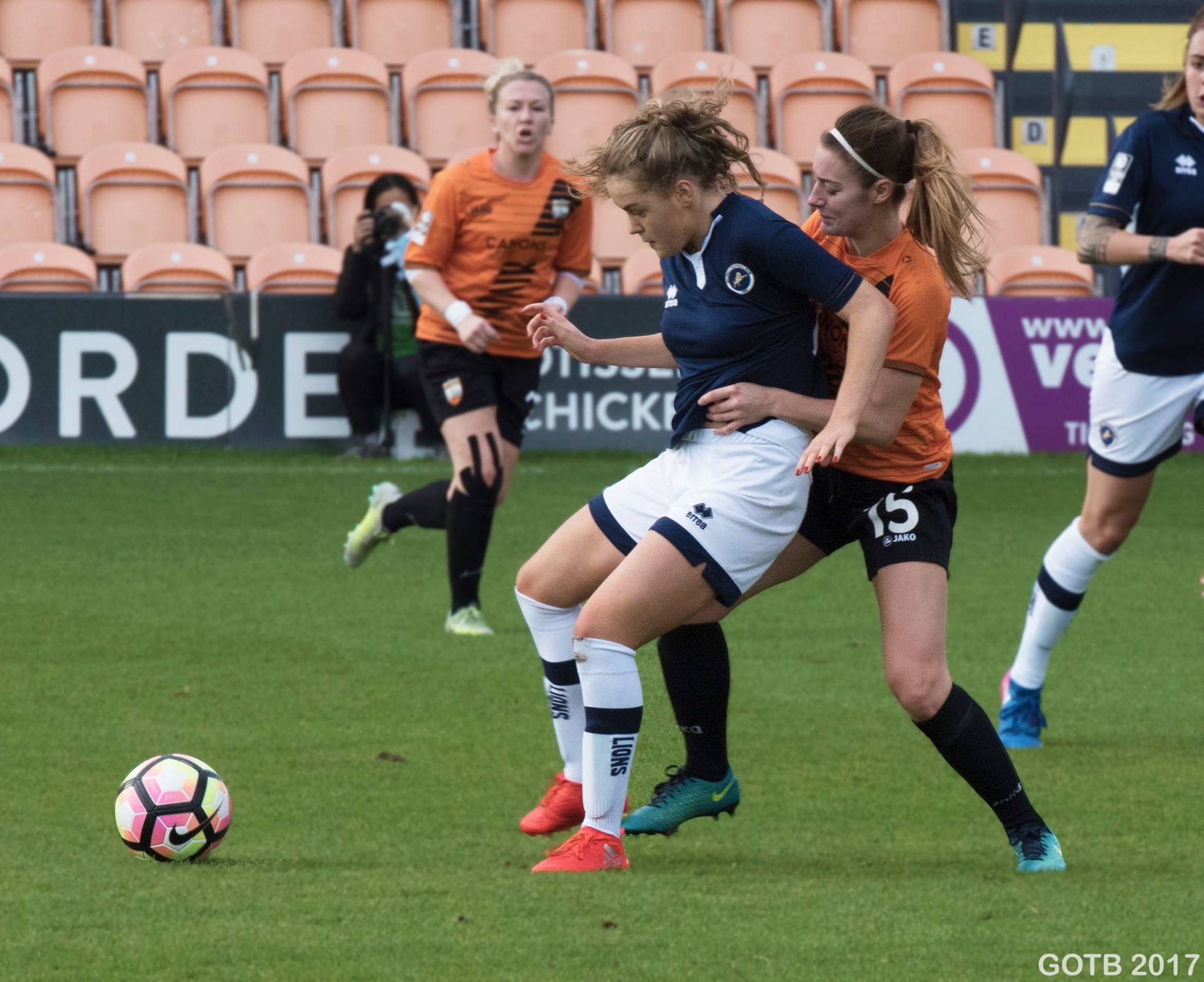 London Bees v Millwall Lionesses, Continental Cup