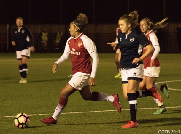 Millwall Lionesses v Arsenal, Continental Cup
