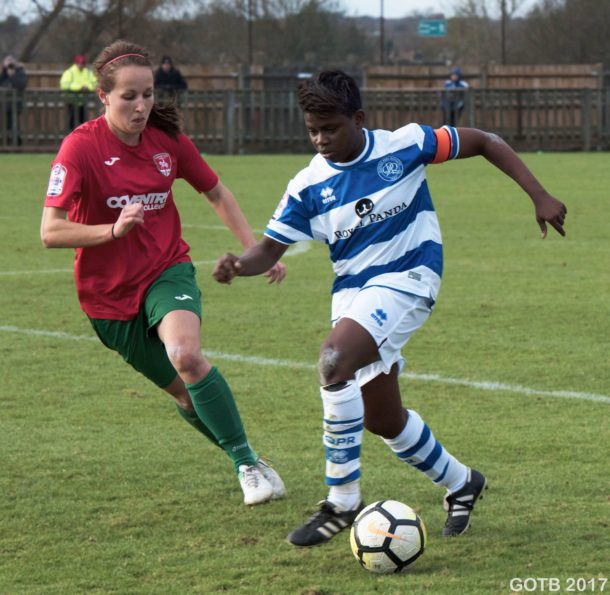 QPR v Coventry United, FAWPL Cup
