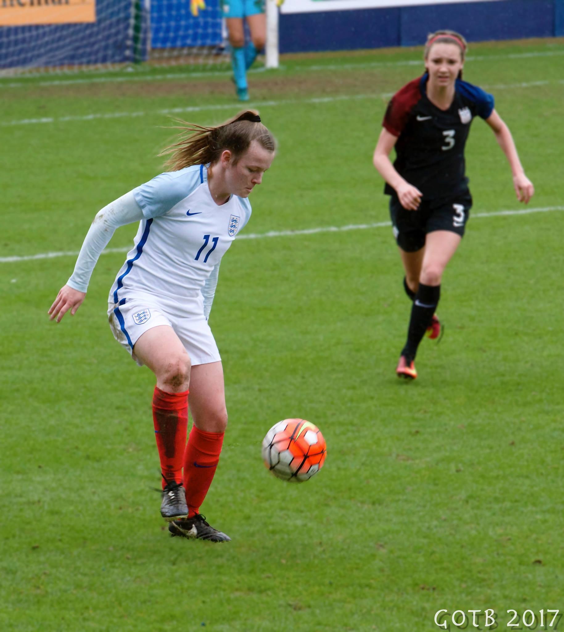 England U17s v USA, Friendly