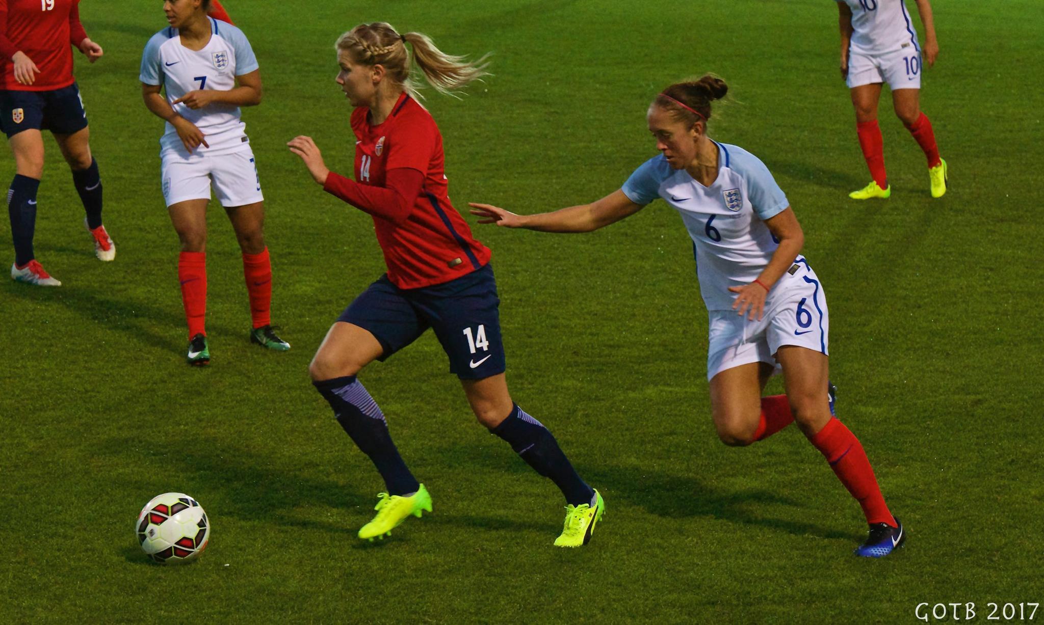 England v Norway, La Manga