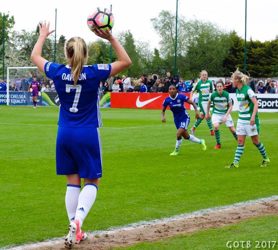 Chelsea v Yeovil Town, FAWSL 1