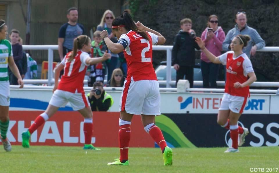 Yeovil Town v Arsenal, FAWSL 1