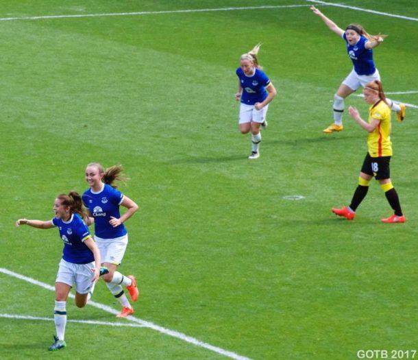 Everton v Watford, FAWSL 2