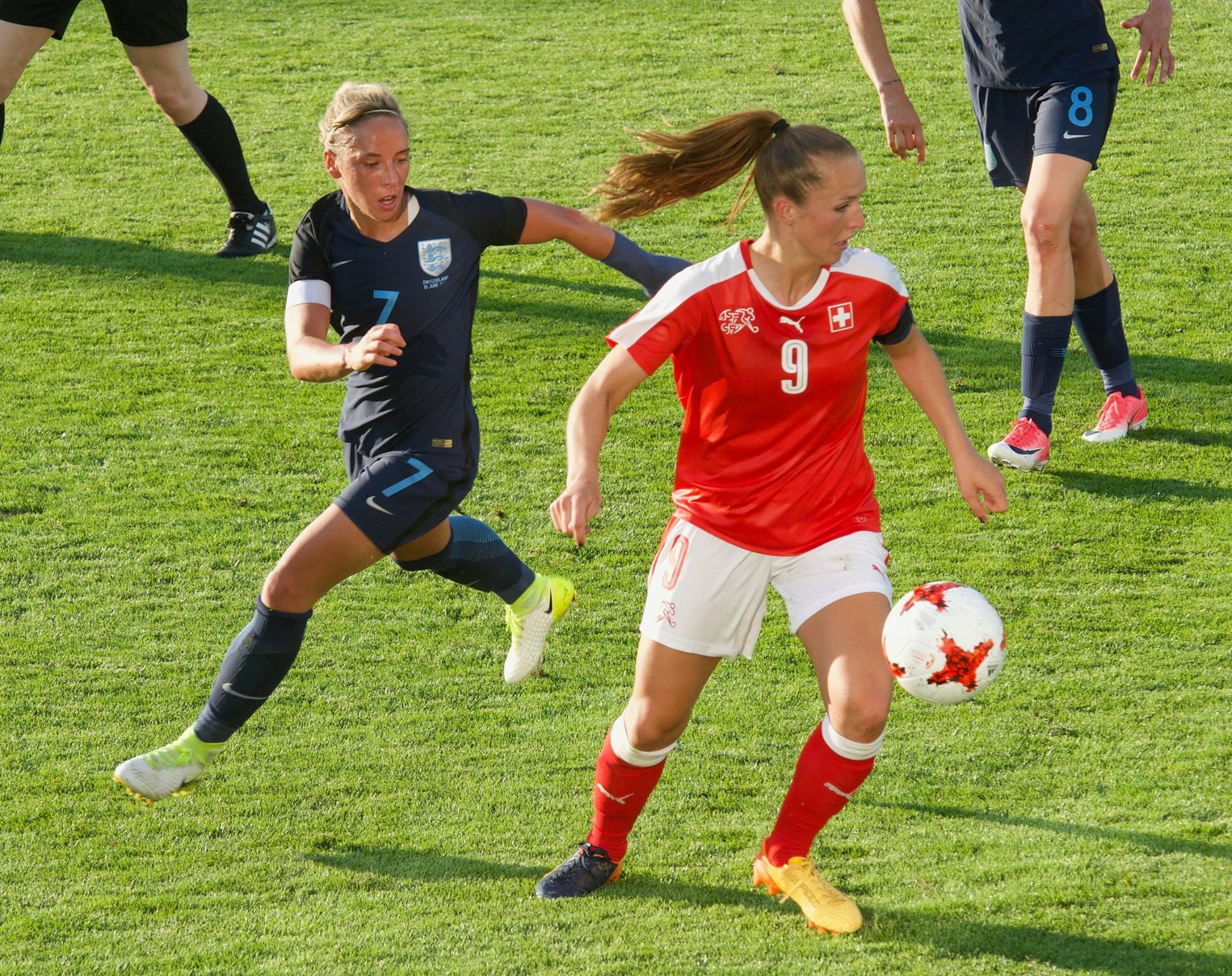 Switzerland v England, Friendly