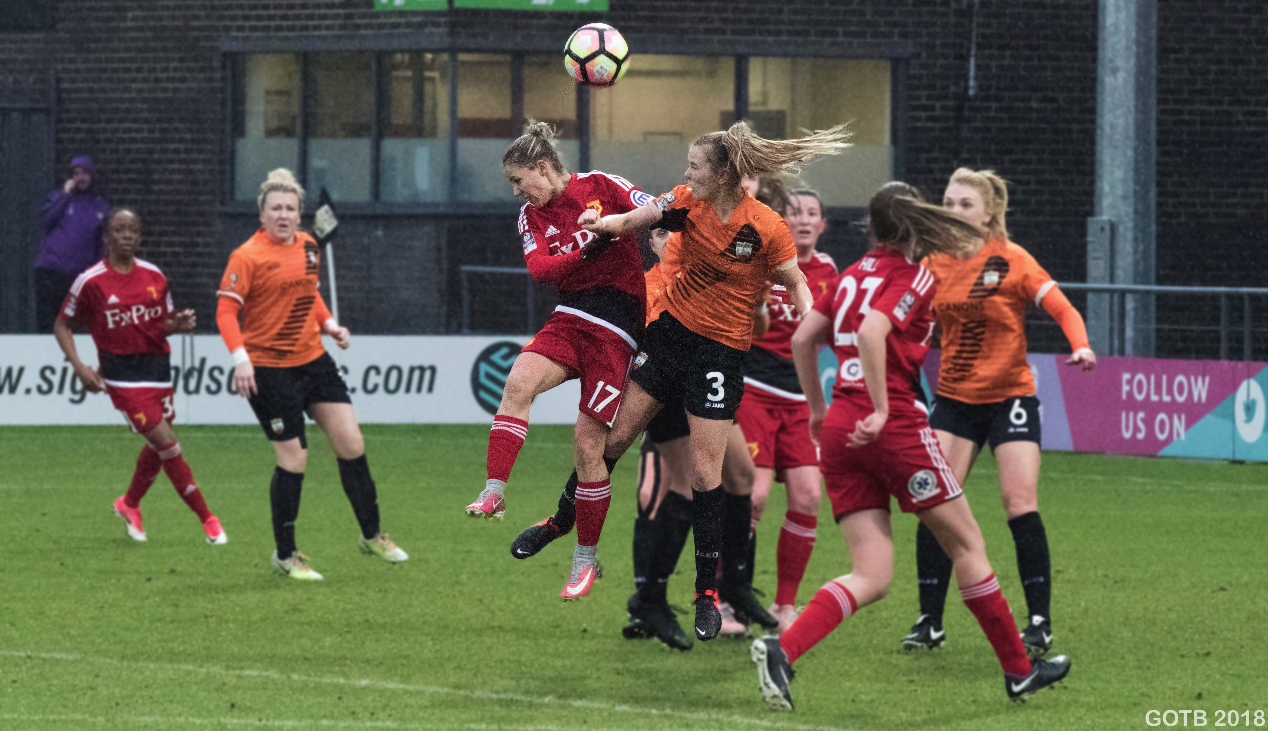London Bees v Watford, FAWSL 2
