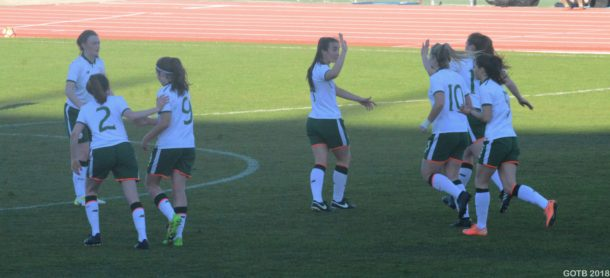 Ireland U19's, Algarve Tournament