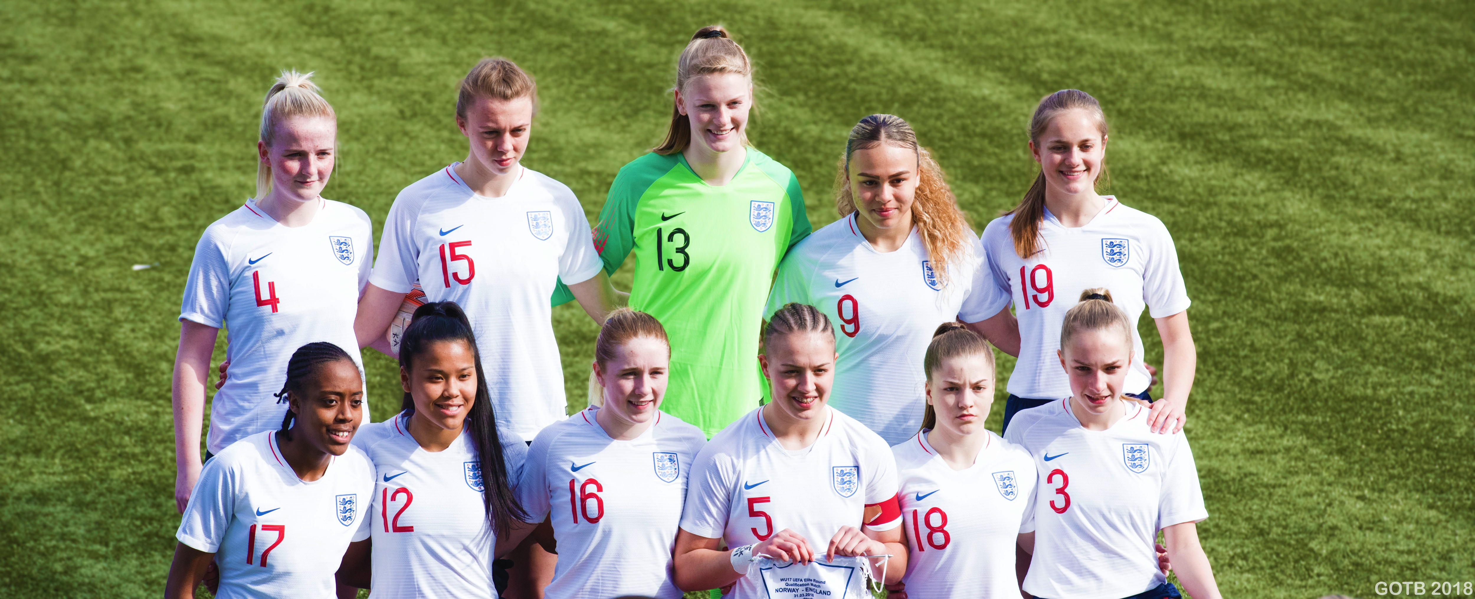 England U17s