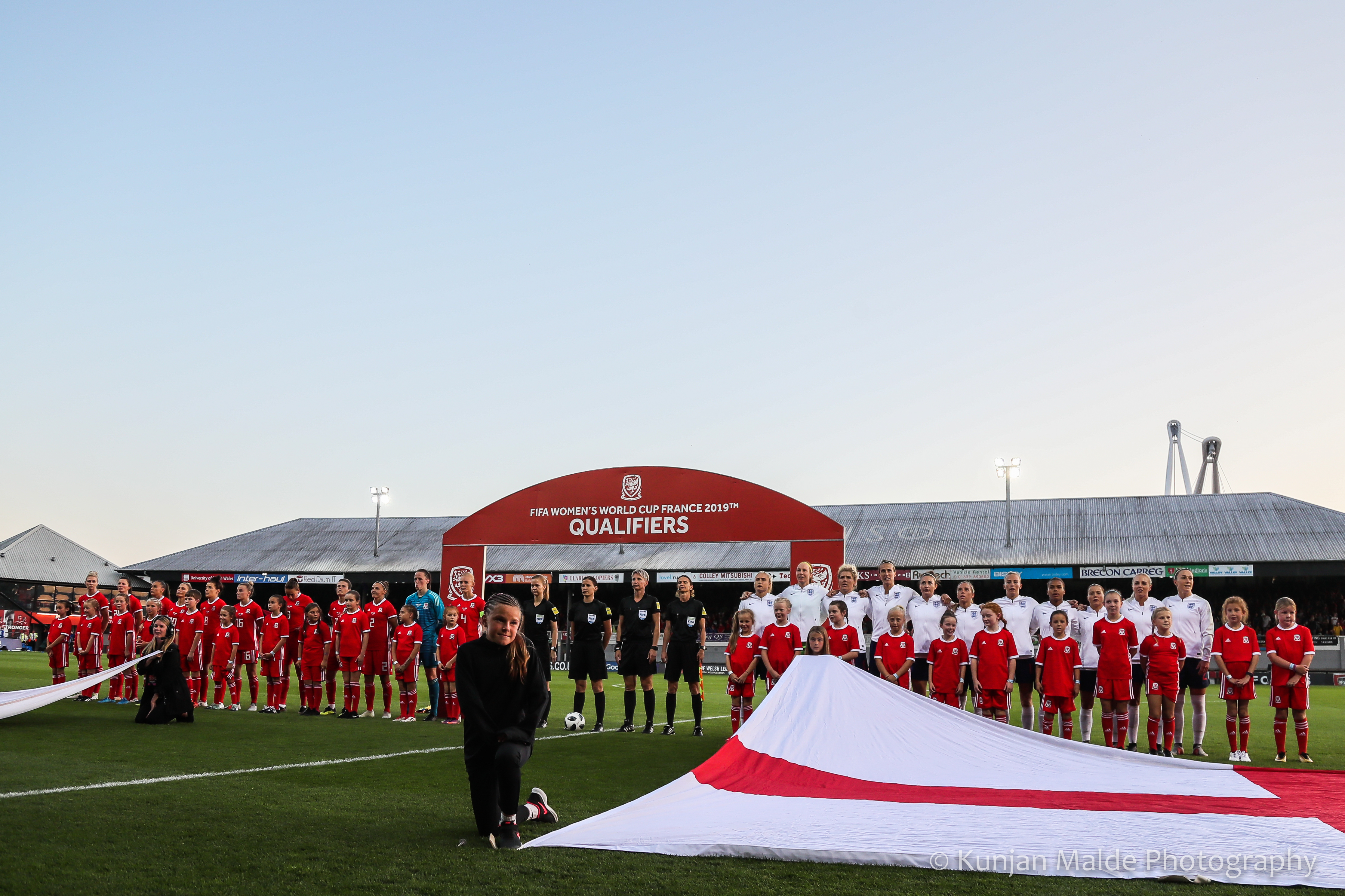 Wales v England, FIFA World Cup Qualifier