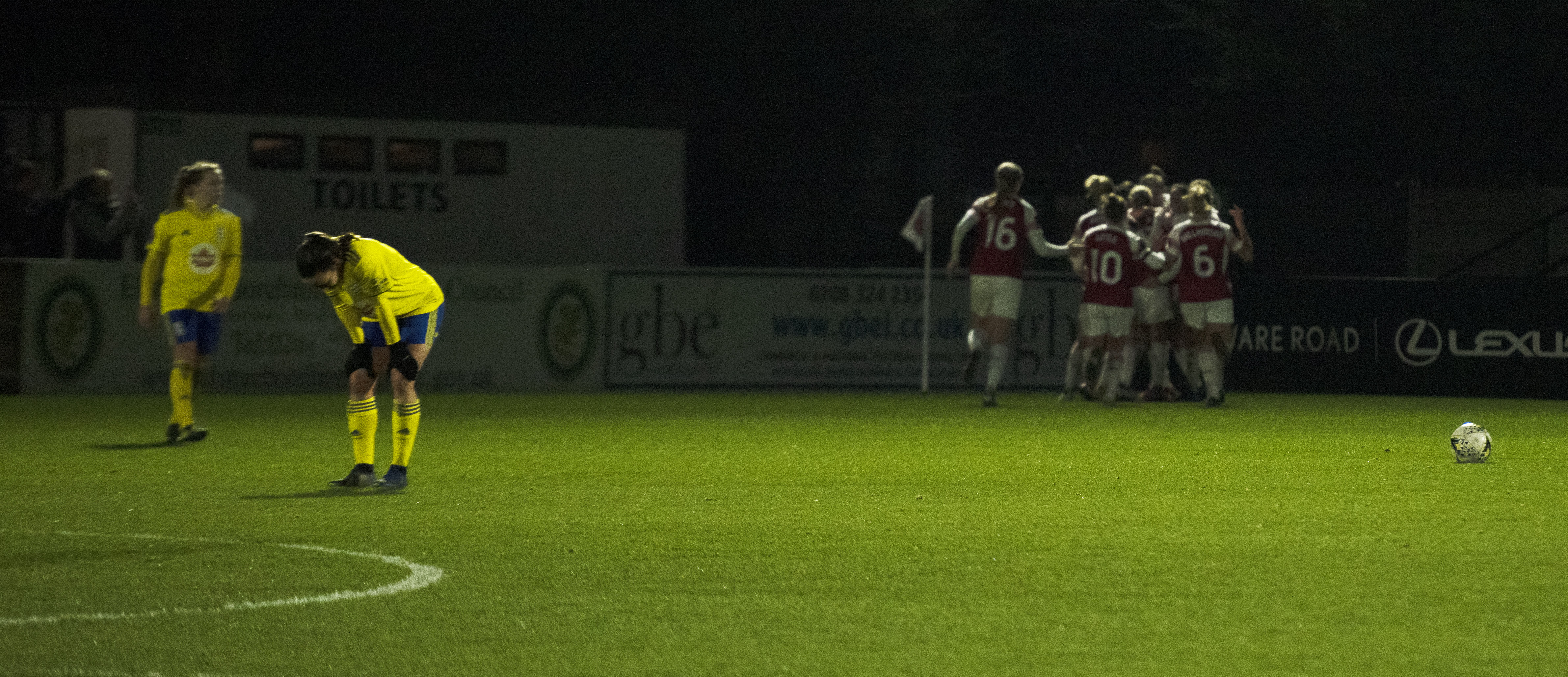 Arsenal late winner against Birmingham, Conti Cup 1/4 Finals