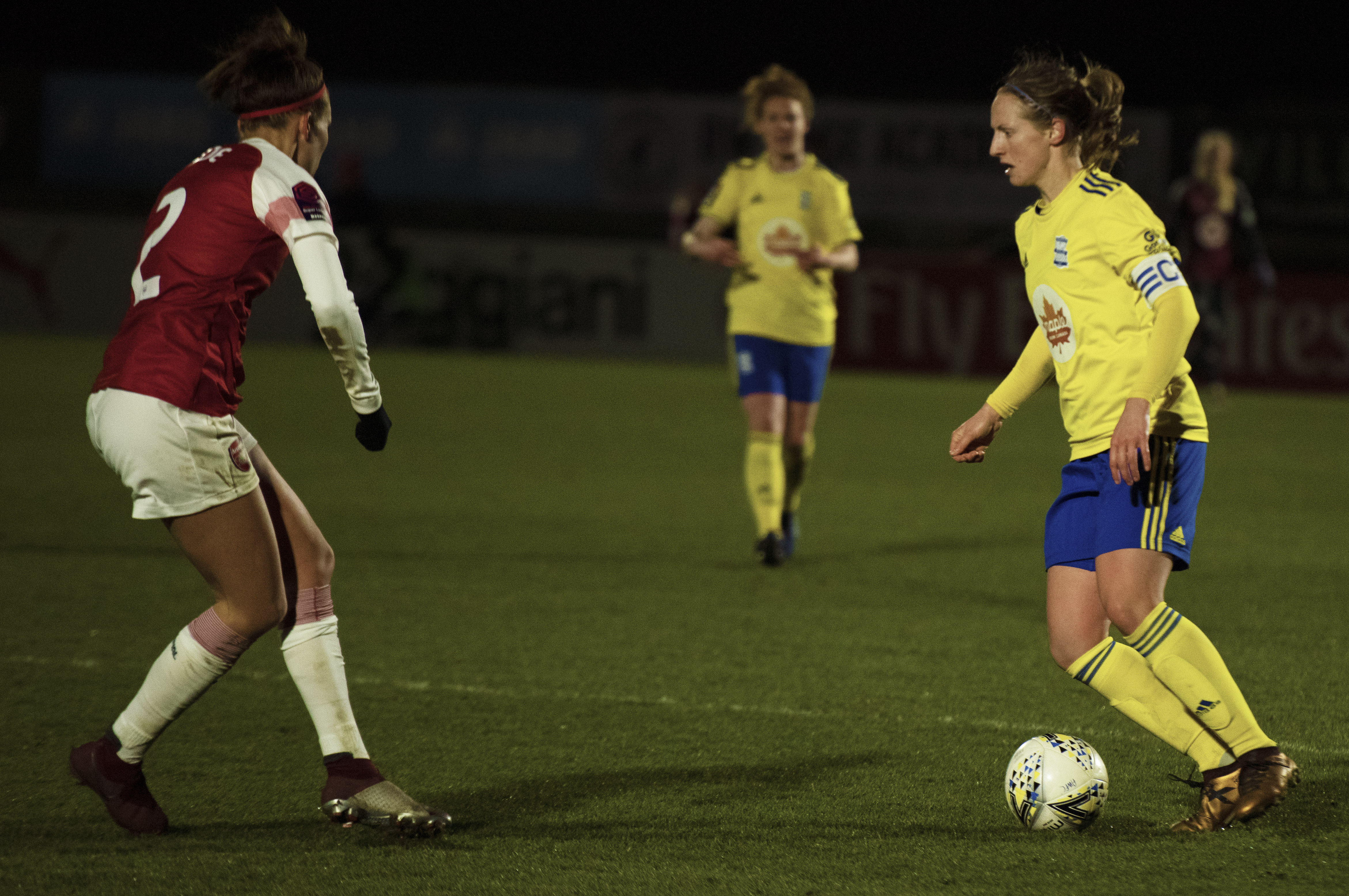 Kerys Harrop, Arsenal v Birmingham City, Conti Cup 1/4 Finals