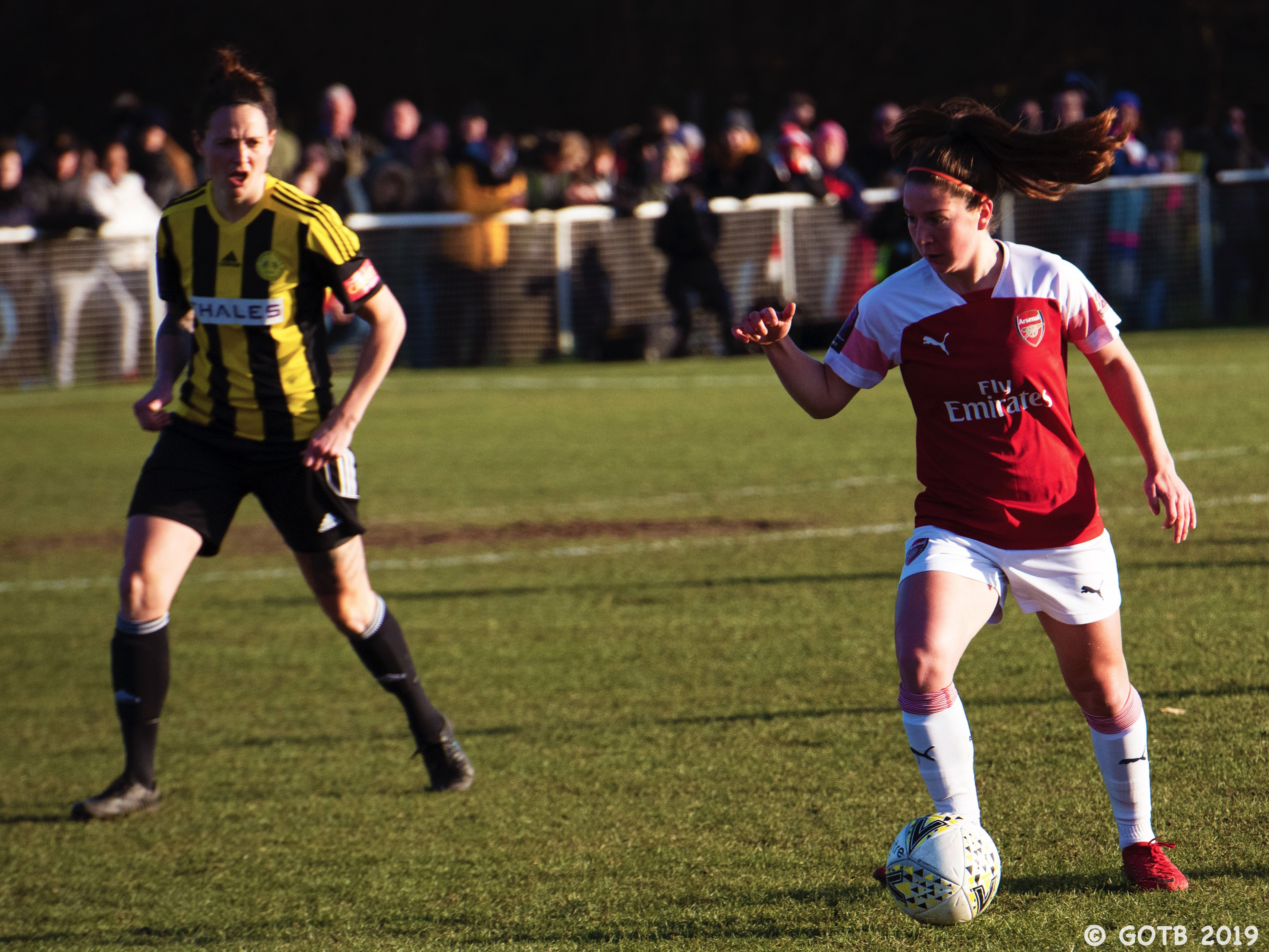 Crawley Wasps v Arsenal, FA Cup 4th Round