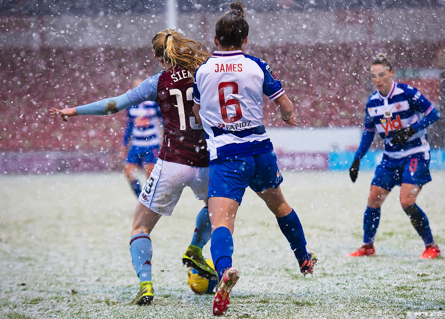 Aston Villa v Reading, Barclays FAWSL