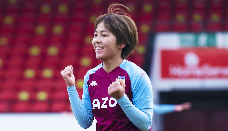 Mana Iwabuchi, Aston Villa v Tottenham