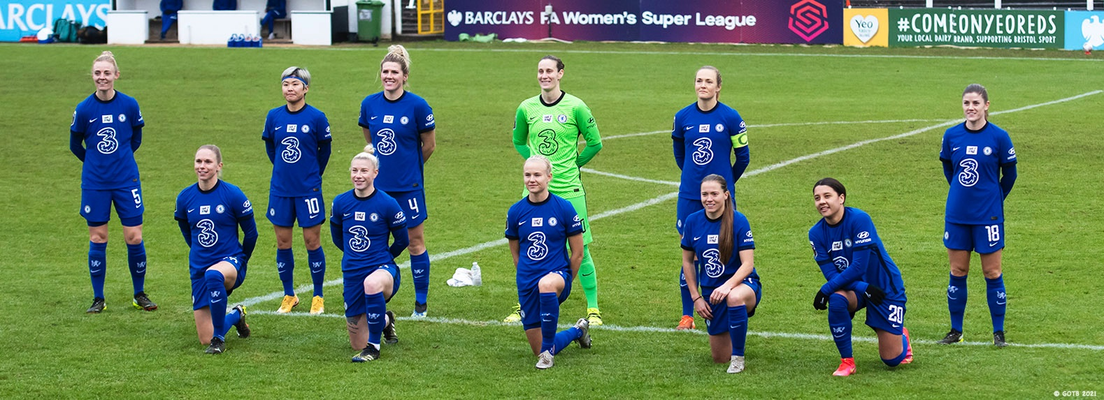 Bristol City v Chelsea, FAWSL