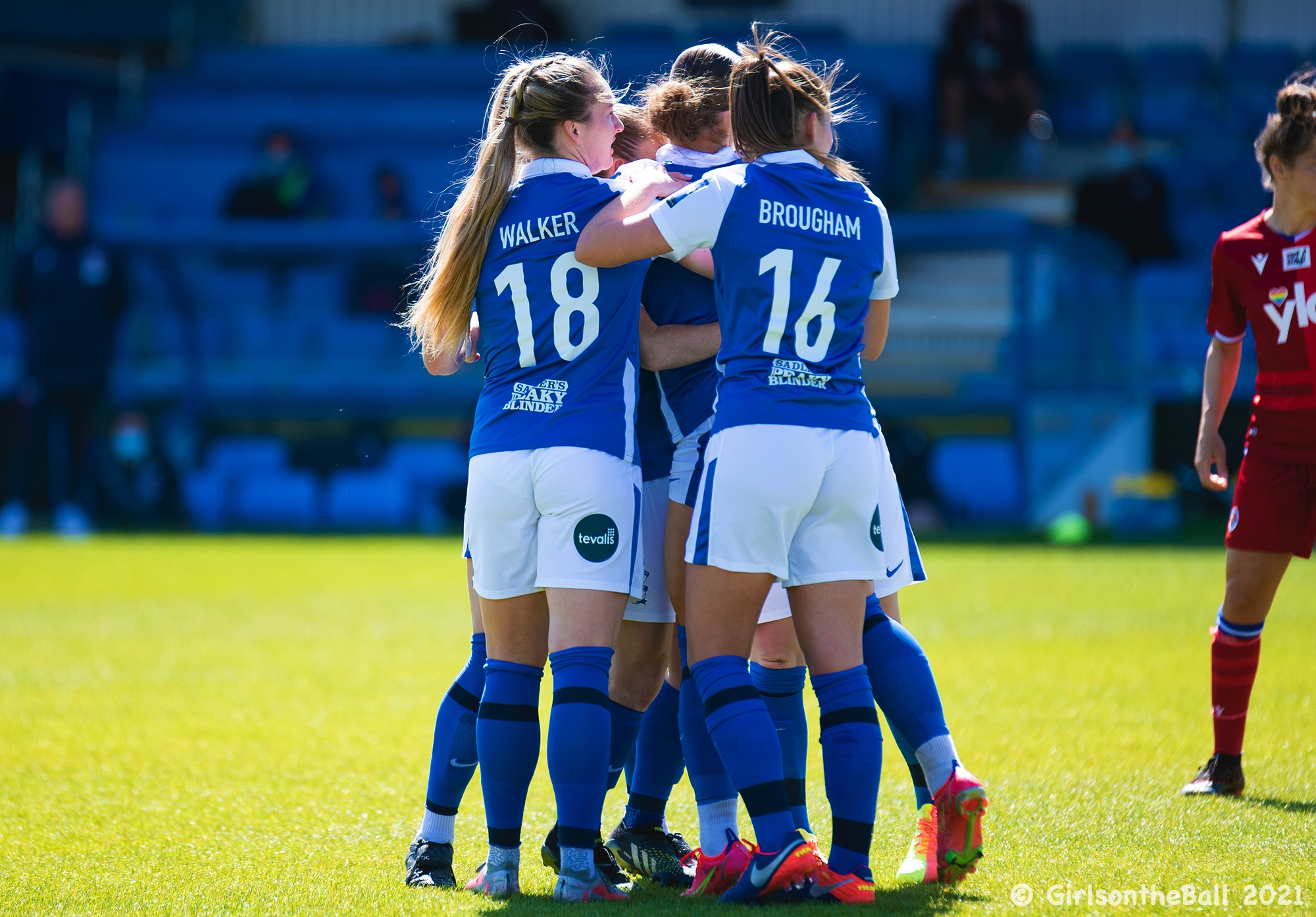 Birmingham City v Reading, Barclays FAWSL