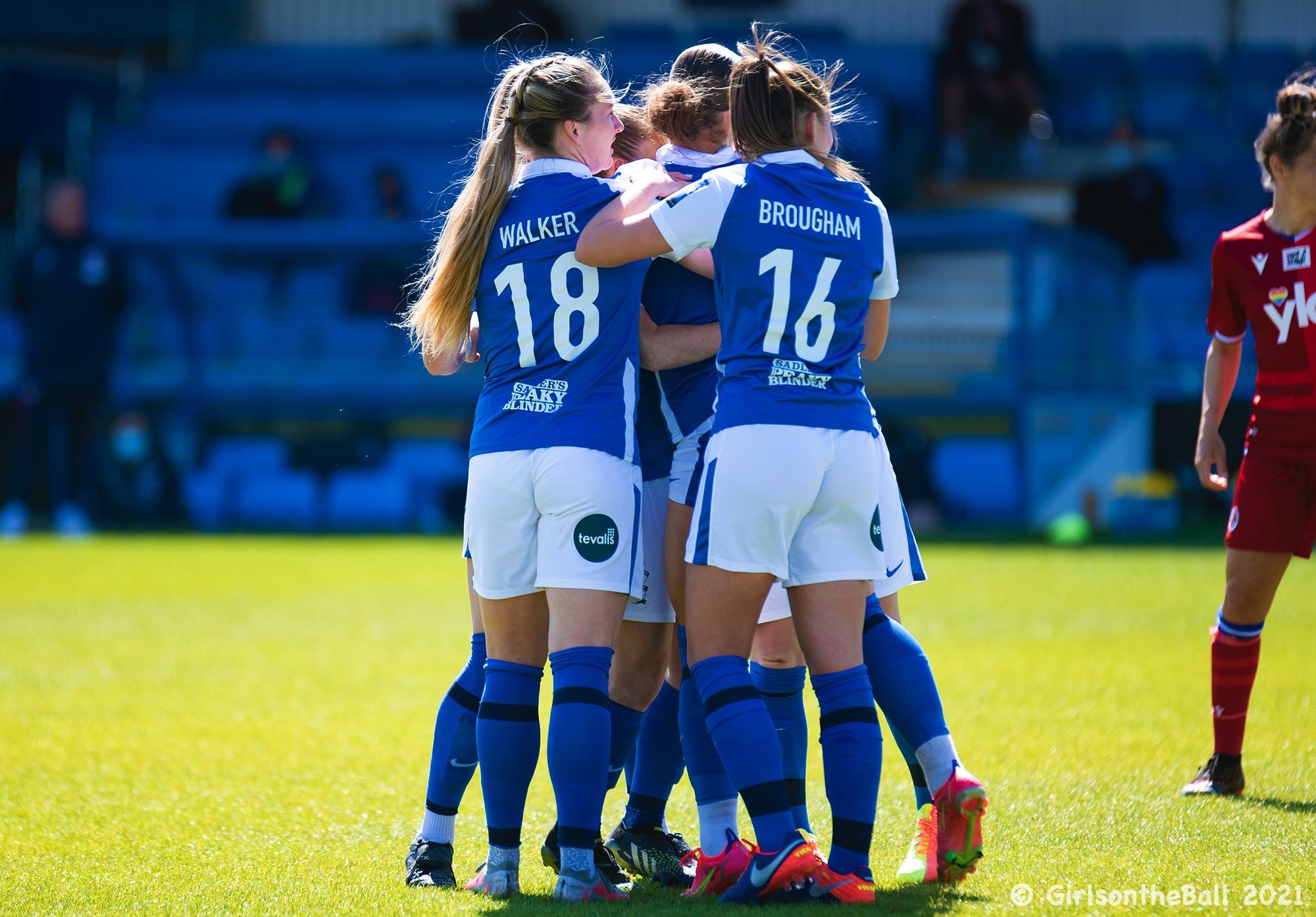 Birmingham City v Reading, Barclays FAWSL