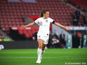 Ella Toone, England v North Macedonia, FIFAWWC Qualifier