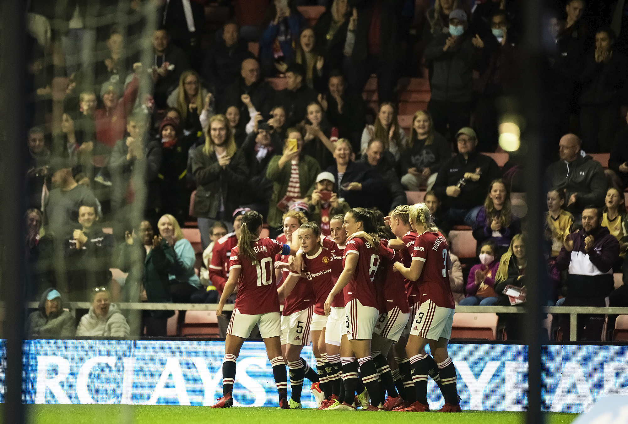 Manchester United v Reading, Barclays FAWSL
