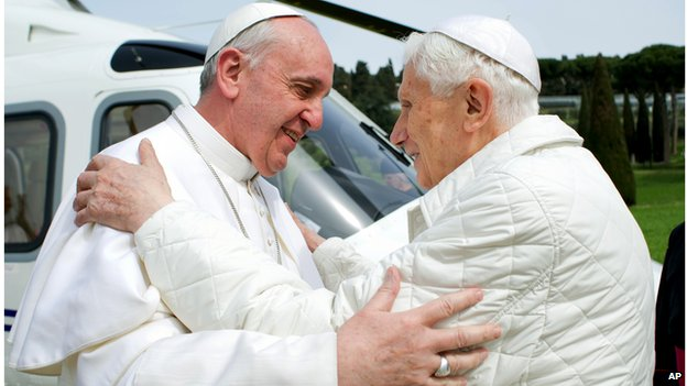 Will Pope Francis have a 'brief' papacy ?