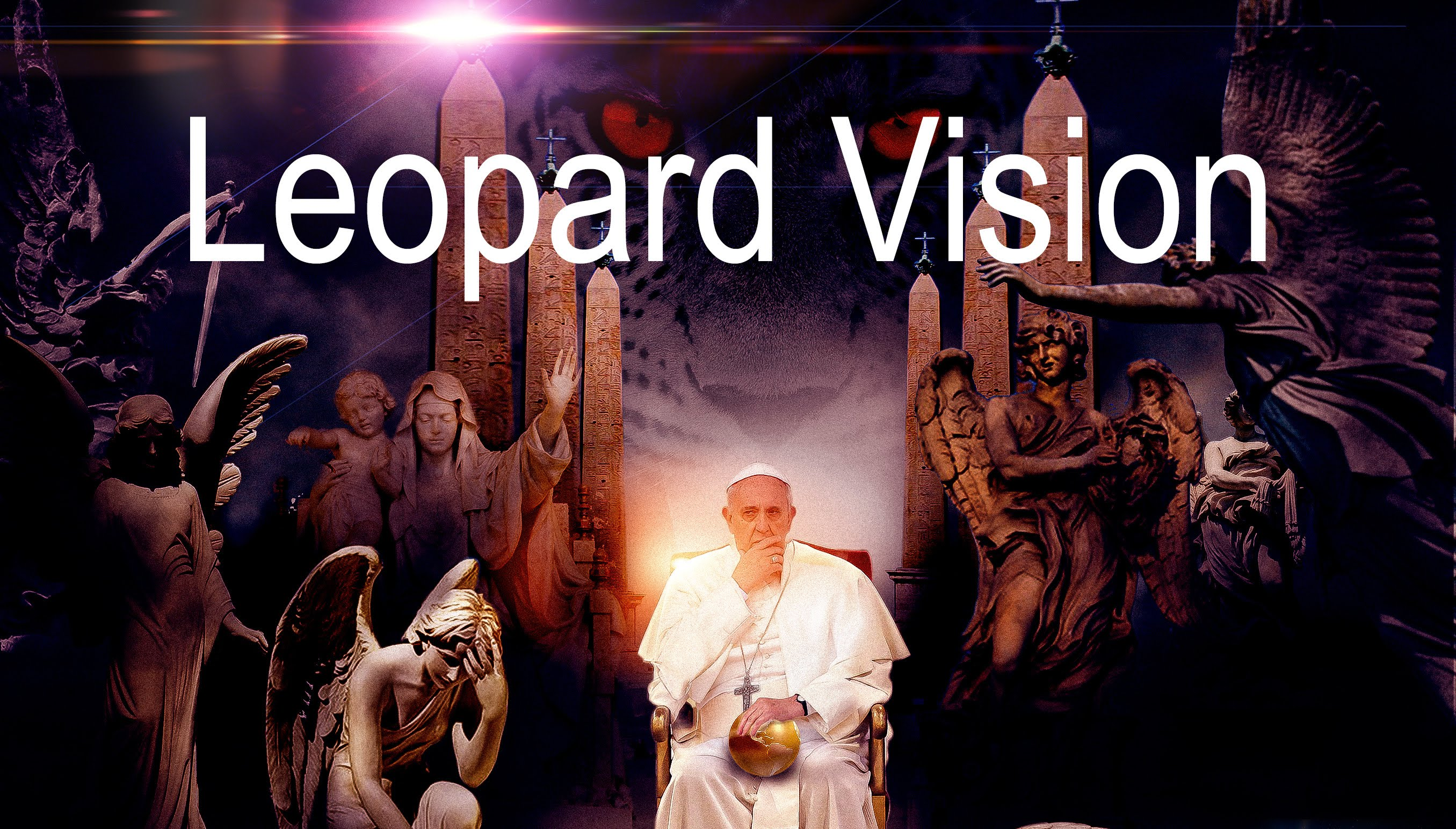 Leapard Vision (Volume 1) – Can a leapard change it's spots ? Are you prepared for the Roman Catholic church to usher in a New World Order ?