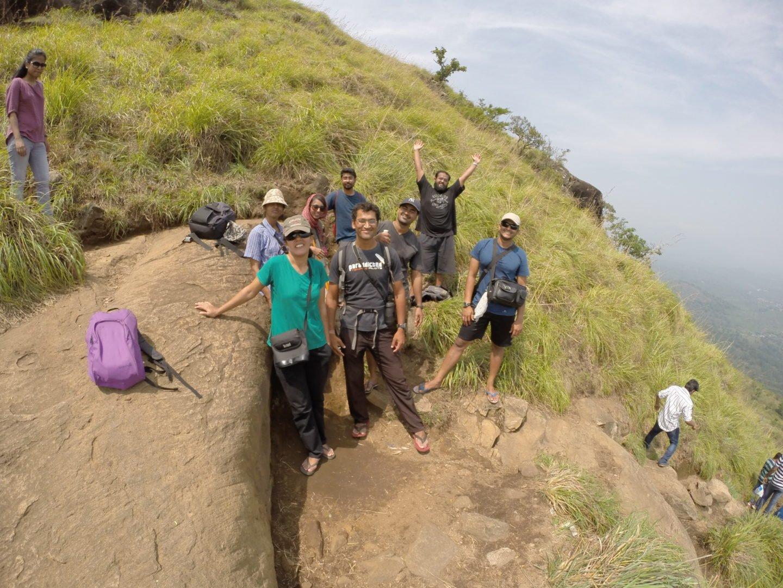 On Chembra Peak