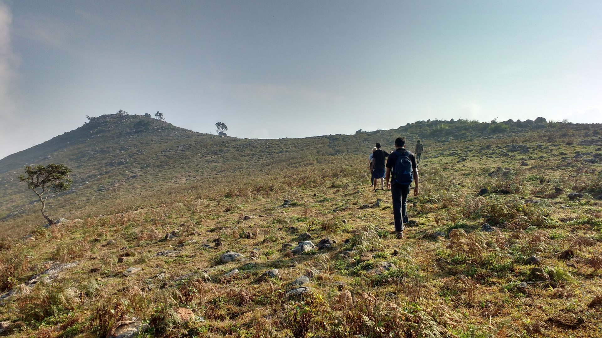Hiking at Bikkapatty Mund